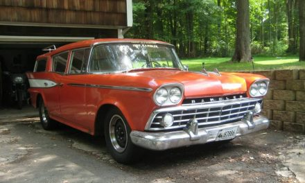 The Original SUV: 1959 Rambler Six Super Cross Country Wagon – $8,500