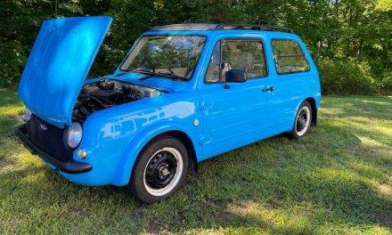 Retro JDM Hatch: 1992 Nissan Pao – $9,200