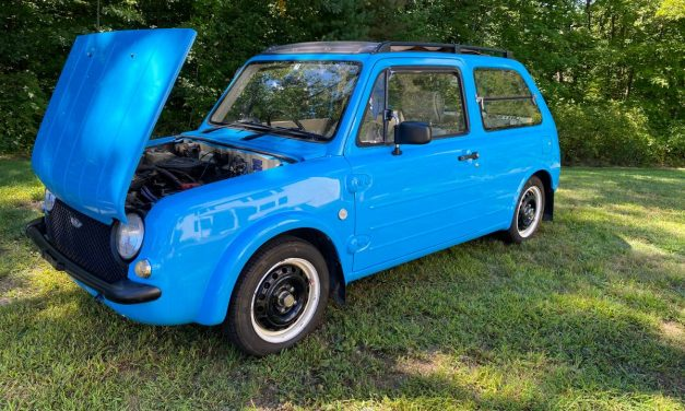 Retro JDM Hatch: 1992 Nissan Pao – NOW $6,800