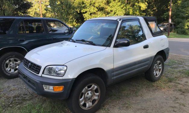 Rad SUV: 1999 Toyota RAV4 Two Door – $1,000