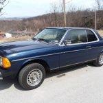 Blue Beauty: 1982 Mercedes-Benz W123 300CD – $10,000