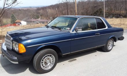 Blue Beauty: 1982 Mercedes-Benz W123 300CD – NOW $9,500