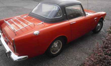 Classifind Cut 34: 1965 Sunbeam Alpine GT – SOLD!