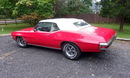 NEW! Award 51:  1972 Pontiac LeMans Sport Convertible – Sold?