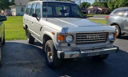 Classifind Cut 25: 1987 Toyota Land Cruiser FJ60 – SOLD!