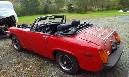Classifind Cut 9: 1976 MG Midget Mark IV 1500 – NOW $3,000