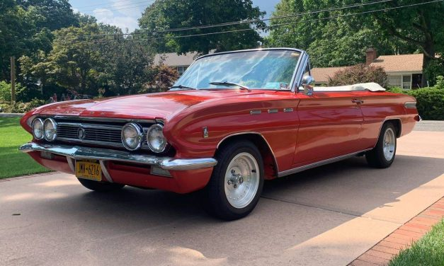 Red Ride: 1962 Buick Skylark Special Convertible – $18,750