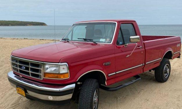 Last Non-Super Duty: 1994 Ford F250 XLT 4×4 – $11,000