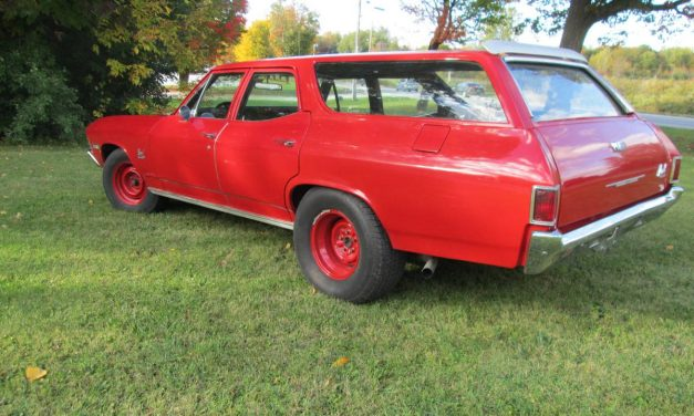 NEW! Award 50: 1968 Chevrolet Chevelle Nomad Station Wagon – $13,500 FIRM