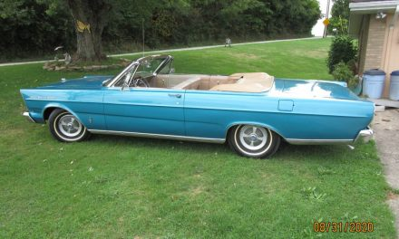 Tropical Turquoise: 1965 Ford Galaxie 500 Convertible – SOLD!