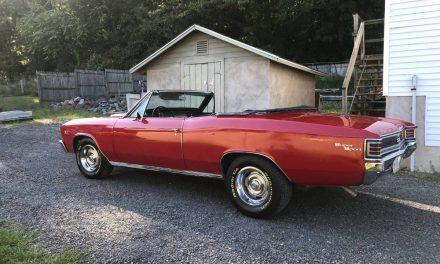 SS Clone:  1967 Chevrolet Malibu Convertible – SOLD!