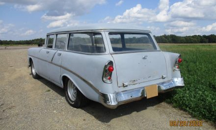 Classifind Cut 15: 1956 Chevrolet 210 Station Wagon Project – $6,200