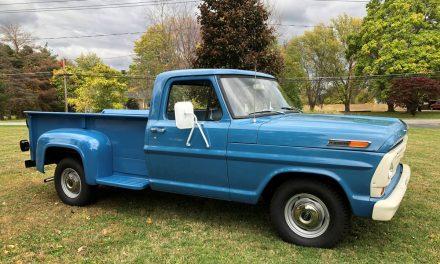 1967 Ford F100 Flareside 13K Mile Restored Pickup – SOLD!