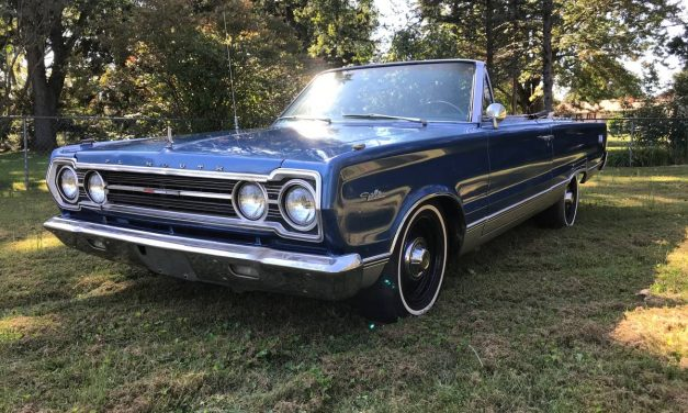 Factory Big Block: 1967 Plymouth Satellite Convertible – NOW $14,500