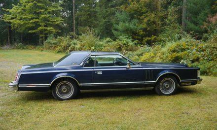Blue Velour:  1979 Lincoln Continental Mark V 29K Mile Survivor – SOLD!