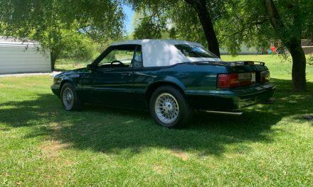 7-Up Chuck: 1990 Ford Mustang LX 5.0 25th Anniversary Convertible – Sold?