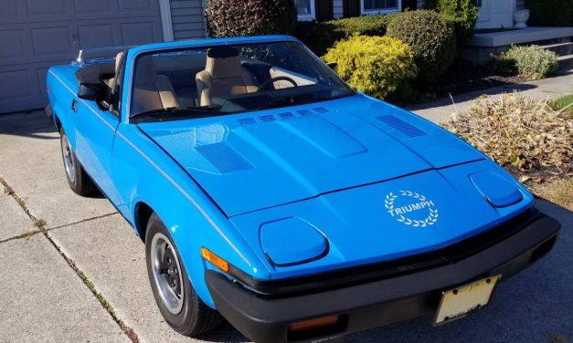 Last Wedge: 1980 Triumph TR7 Convertible – $5,700