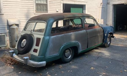 Restore or Restomod: 1950 Ford Country Squire Project – Sold?