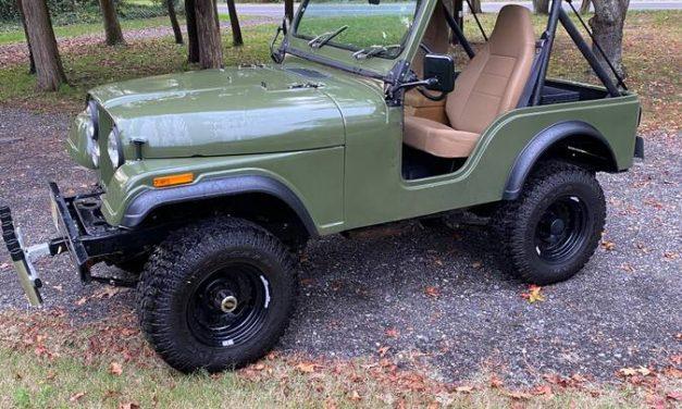 Classifind Cut 37: 1978 Jeep CJ5 – $15,000