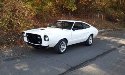 Better Bumper-less? 1977 Ford Mustang II Street Machine – Sold?