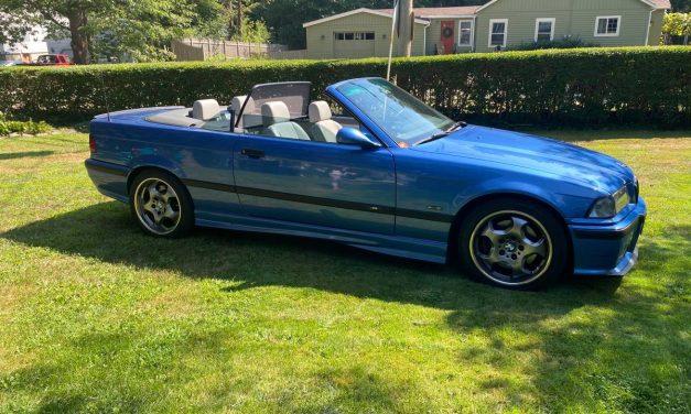 Classifind Cut 30: 1998 BMW E36 M3 5-Speed Convertible – $10,000