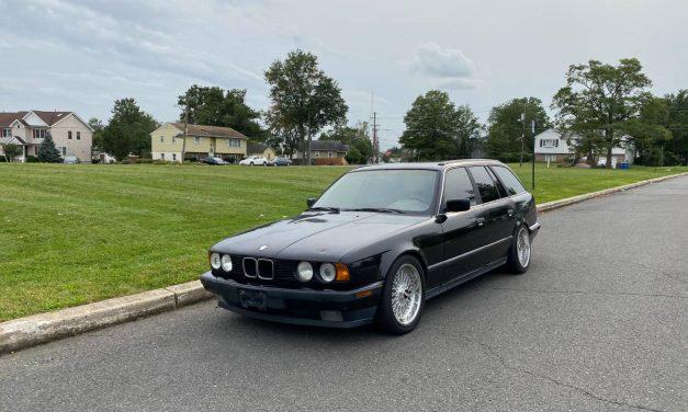 Short Straw:  1993 BMW E34 525i Touring – $4,200