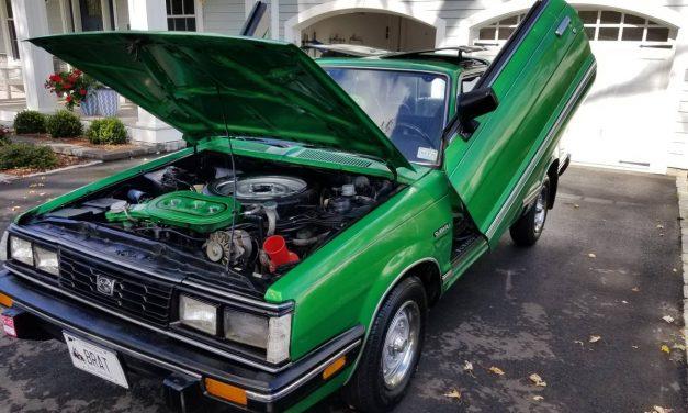 Lambo Doors: 1985 Subaru BRAT – NOW $9,500
