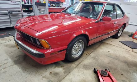 One Owner E24: 1989 BMW 635CSI – $23,000