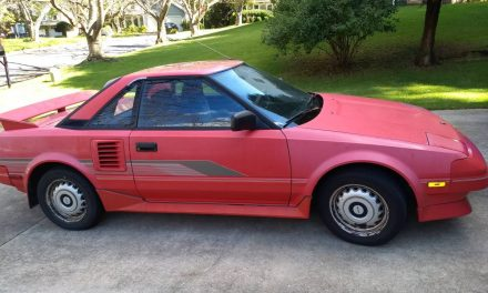 Mid-Engined Marvel: 1987 Toyota MR2 – SOLD!