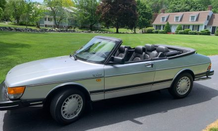 Summer Car Sale: 1986 SAAB 900 Turbo Convertible – $6,900