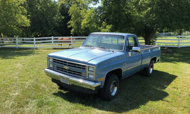 Low Mileage Square Body: 1985 Chevy Silverado – $20,000