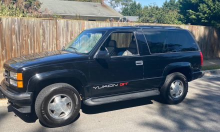 Rare Two Door SUV: 1997 GMC Yukon GT – $8,500