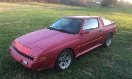 Needs a Buff: 1987 Chrysler Conquest TSI – SOLD!