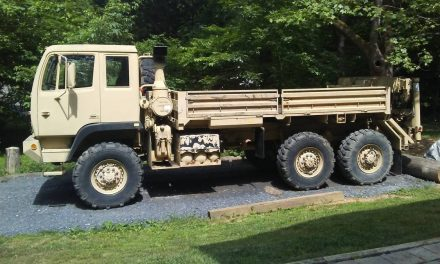 Ready to Lift: 1997 Stewart & Stevenson M1084 – Sold?