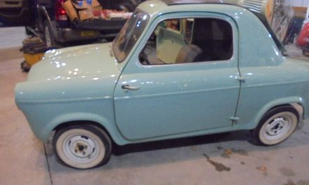 Classifind Cut: 1959 Vespa 400 Project – $12,500