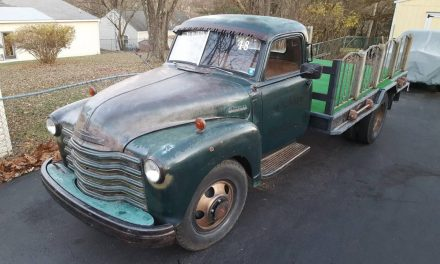 Classifind Cut: 1948 Chevrolet 6400 Loadmaster Stakebed – SOLD!