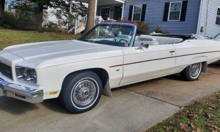 Swan Song: 1975 Chevrolet Caprice Convertible – $23,500