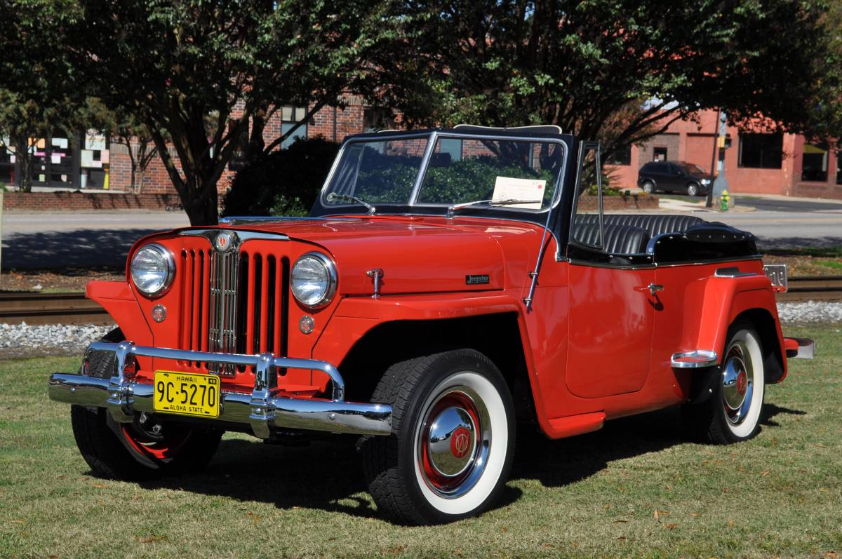 Final Phaeton 1948 Willys Overland Jeepster Sold Guyswithrides Com