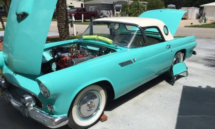 Classifind Cut 56: 1955 Ford Thunderbird – NOW $21,900