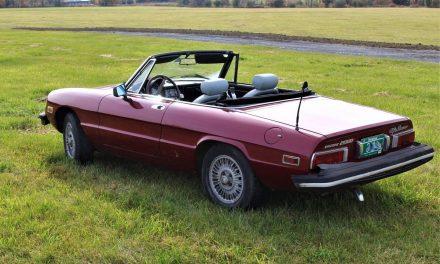 Bisogna Lavorarci: 1978 Alfa Romeo Spider Veloce – SOLD!
