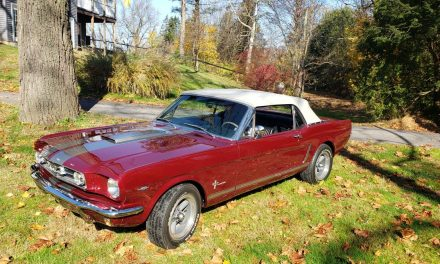 Classifind Cut: 1965 Ford Mustang Convertible – $44,700