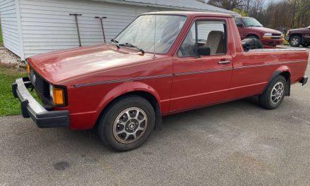 Classfind Cut 52: 1981 Volkswagen Rabbit Diesel Pickup – $9,500