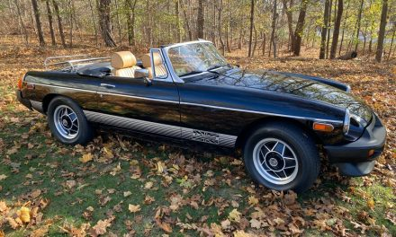 Classifind Cut: 1980 MG MGB Limited Edition – SOLD!