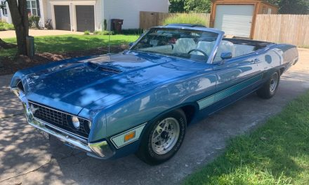 1970 Ford Torino GT Convertible – $29,500