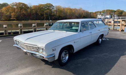 Big Block Bus: 1966 Chevrolet Impala 396 Six Passenger Station Wagon – SOLD!
