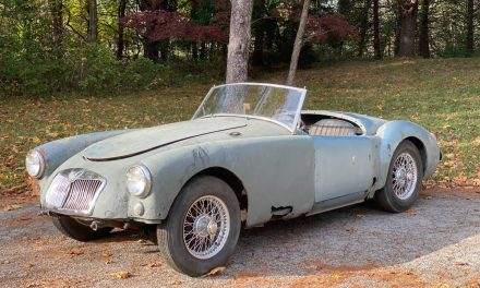 Classifind Cut 62: 1956 MG MGA Project – $3,900