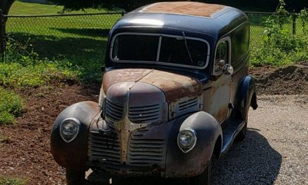 Classifind Cut: 1941 Dodge Panel Delivery – SOLD!