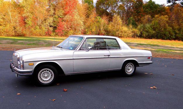Classifind Cut: 1972 Mercedes Benz W114 250C – $9,000