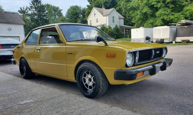 Small Sipper: 1978 Toyota Corolla E31 1.2 – $13,500