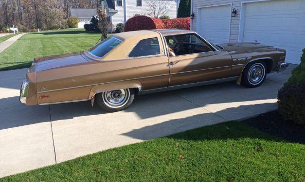 Last Big Buick: 1976 Buick Electra 225 – $11,500